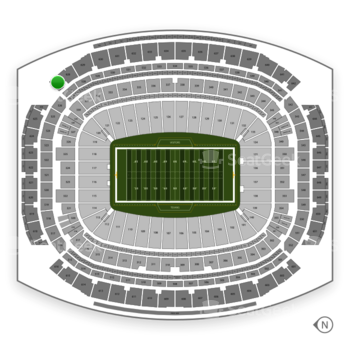 Houston Texans at NRG Stadium Section 627 View