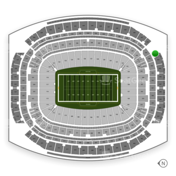 Houston Texans at NRG Stadium Section 643 View