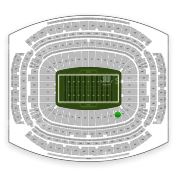Houston Texans at NRG Stadium Section 102 View