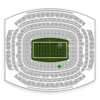Houston Texans at NRG Stadium Section 104 View