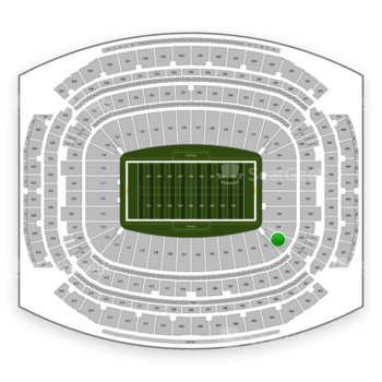 Houston Texans at NRG Stadium Section 140 View
