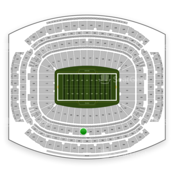 Houston Texans at NRG Stadium Section 310 View