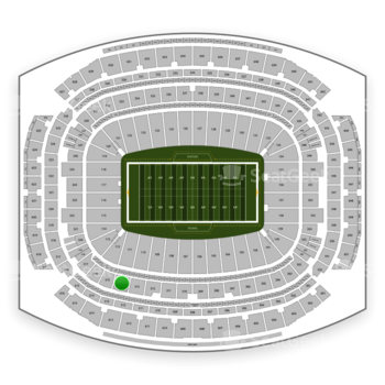 Houston Texans at NRG Stadium Section 314 View