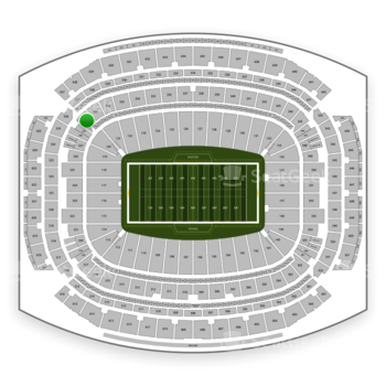 Houston Texans at NRG Stadium Section 330 View