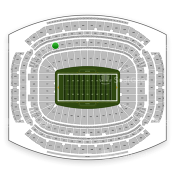 Houston Texans at NRG Stadium Section 333 View