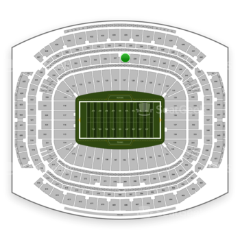 Houston Texans at NRG Stadium Section 338 View