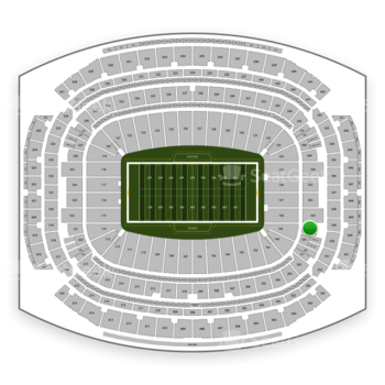 Houston Texans at NRG Stadium Section 354 View