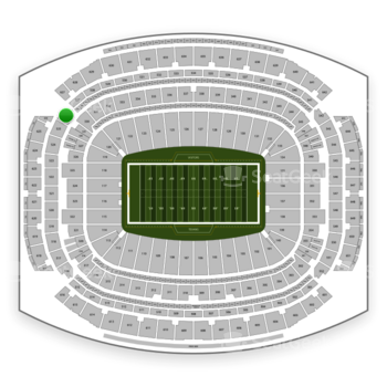 Houston Texans at NRG Stadium Section 526 View