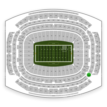 Houston Texans at NRG Stadium Section 552 View