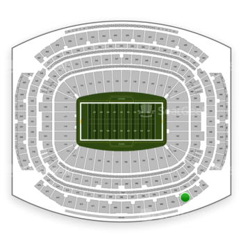 Houston Texans at NRG Stadium Section 603 View