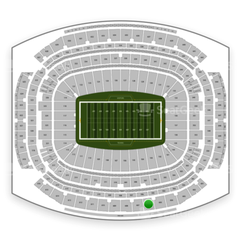 Houston Texans at NRG Stadium Section 606 View