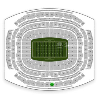 Houston Texans at NRG Stadium Section 608 View