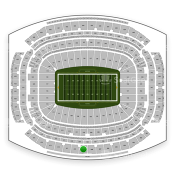 Houston Texans at NRG Stadium Section 609 View