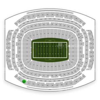 Houston Texans at NRG Stadium Section 614 View