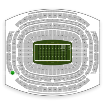 Houston Texans at NRG Stadium Section 617 View