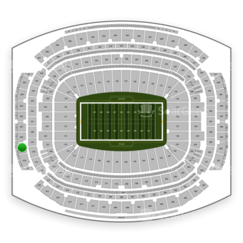 Houston Texans at NRG Stadium Section 619 View