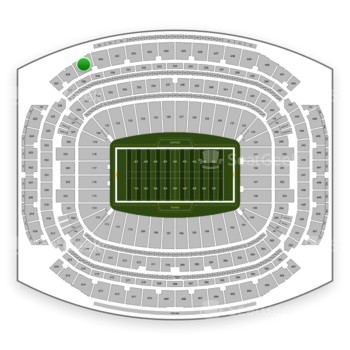Houston Texans at NRG Stadium Section 629 View
