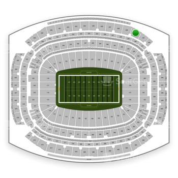 Houston Texans at NRG Stadium Section 640 View