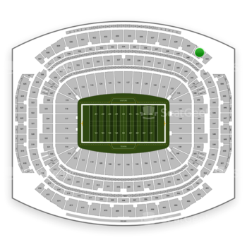 Houston Texans at NRG Stadium Section 641 View