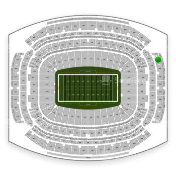 Houston Texans at NRG Stadium Section 644 View