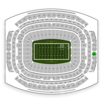 Houston Texans at NRG Stadium Section 648 View