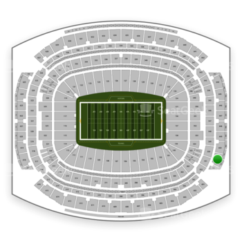 Houston Texans at NRG Stadium Section 651 View