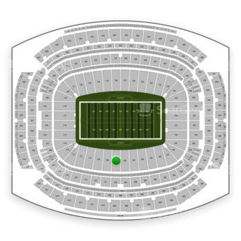 Houston Texans at NRG Stadium Section 107 View