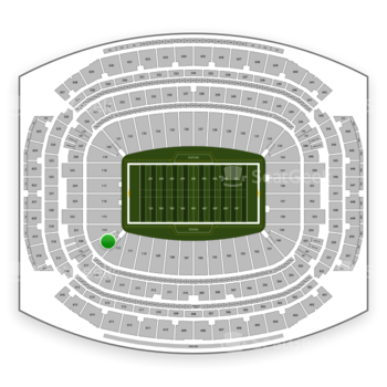 Houston Texans at NRG Stadium Section 113 View