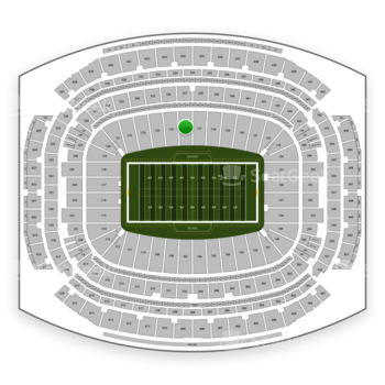 Houston Texans at NRG Stadium Section 126 View
