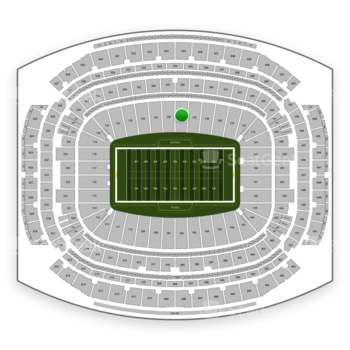 Houston Texans at NRG Stadium Section 127 View