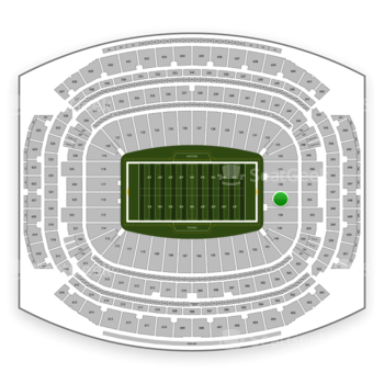 Houston Texans at NRG Stadium Section 137 View