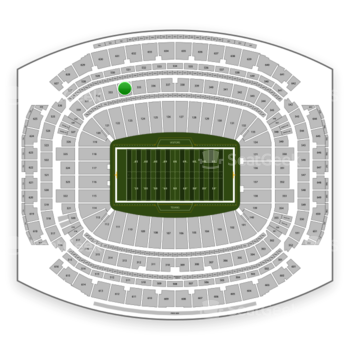 Houston Texans at NRG Stadium Section 334 View