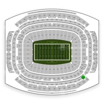 Houston Texans at NRG Stadium Section 501 View