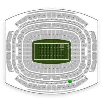 Houston Texans at NRG Stadium Section 504 View