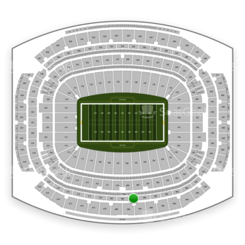 Houston Texans at NRG Stadium Section 507 View
