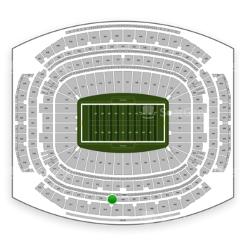 Houston Texans at NRG Stadium Section 509 View