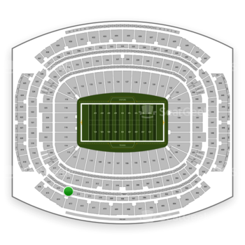 Houston Texans at NRG Stadium Section 513 View