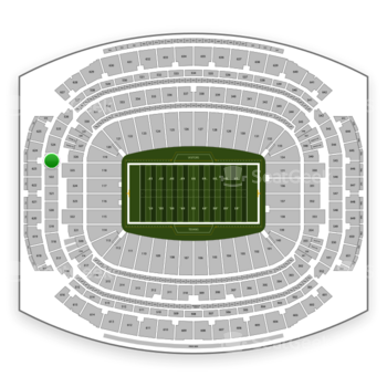 Houston Texans at NRG Stadium Section 523 View