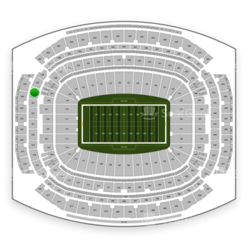 Houston Texans at NRG Stadium Section 524 View
