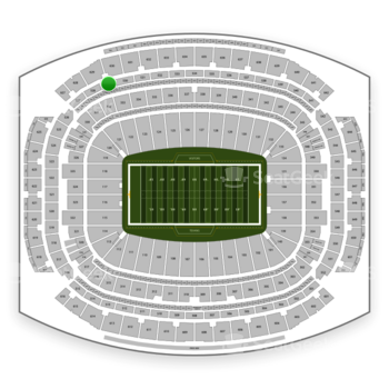 Houston Texans at NRG Stadium Section 529 View