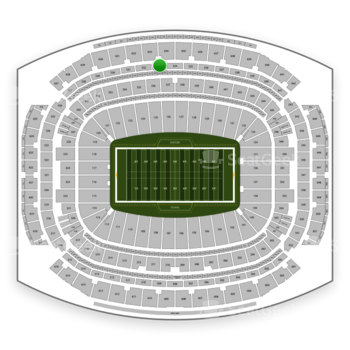 Houston Texans at NRG Stadium Section 533 View