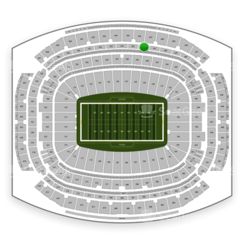 Houston Texans at NRG Stadium Section 536 View