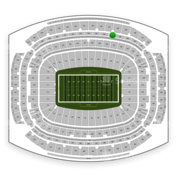 Houston Texans at NRG Stadium Section 537 View
