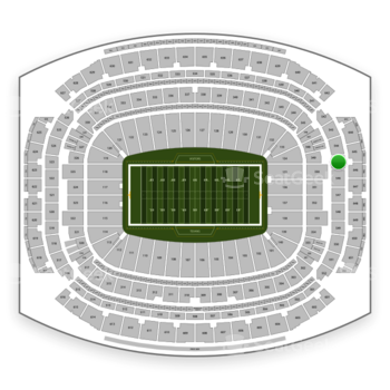 Houston Texans at NRG Stadium Section 545 View