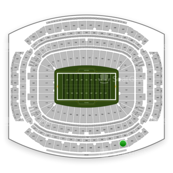 Houston Texans at NRG Stadium Section 604 View
