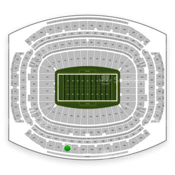Houston Texans at NRG Stadium Section 611 View