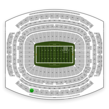 Houston Texans at NRG Stadium Section 613 View