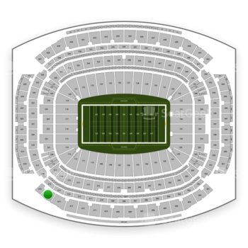Houston Texans at NRG Stadium Section 615 View