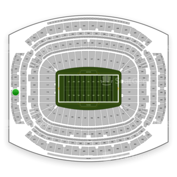 Houston Texans at NRG Stadium Section 621 View
