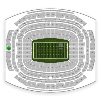 Houston Texans at NRG Stadium Section 622 View